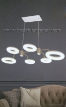 Đèn Thả Led Nghệ Thuật KDY107 Ø600