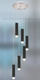 Đèn Thả Led Thông Tầng TP6060 Ø450 x H1800