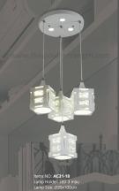 Đèn Thả LED Trang Trí AC31-18 Ø350