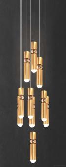 Đèn Led Thả Cầu Thang NLNB3110-10 Φ400