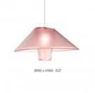 Đèn Thả Nghệ Thuật AU-DT9569P-WH Ø500