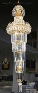 Đèn Thả Pha Lê QN7201 Ø500xH1600
