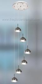 Đèn Thả Led Thông Tầng TP6056 Ø420 x H1600