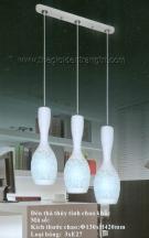 Đèn Thả Thủy Tinh Chao Khắc KD491