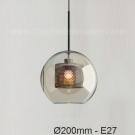 Đèn Thả Thủy Tinh TBD-F421 Ø200