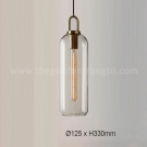 Đèn Thả Thủy Tinh TBD-F424 Ø125