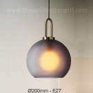Đèn Thả Thủy Tinh TBD-F426 Ø200