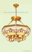 Đèn Thả Đồng NLNB2211 Ø400