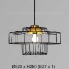 Đèn Thả Trang Trí KH-TCF27-1C Ø520