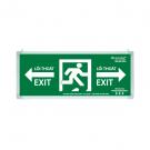 Đèn Exit Lưu Điện LED 2 Mặt 0213AG