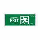 Đèn Exit Lưu Điện LED 1 Mặt 0301AG