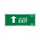 Đèn Exit Lưu Điện LED 1 Mặt 0402AG