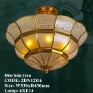 Đèn Trần Đồng Cao Cấp US040 Ø530