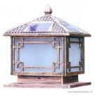 Đèn Trụ Cổng Năng Lượng Mặt Trời EU-SOLAR33 400x400