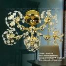 Đèn Chùm Nghệ Thuật Mạ Vàng US211 Ø600