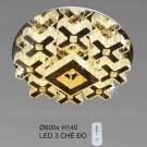 Đèn Trang Trí Ốp Trần LED KH-OTPL05T Ø600