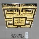 Đèn Trang Trí Ốp Trần LED KH-OTPL07V 600x600