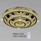 Đèn Trang Trí Ốp Trần LED KH-OTPL10T Ø500