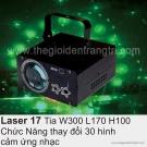 Đèn Trang Trí Phòng Karaoke Laser 17
