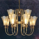 Đèn Chùm Đồng NLNC2208-12 Ø900