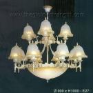 Đèn Chùm Cổ Điển C7250-12 Ø900