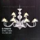 Đèn Chùm Led Nghệ Thuật EU-C7342 Ø800