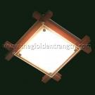 Đèn Ốp Trần Led Vuông Đổi Màu PN87070M Ø400