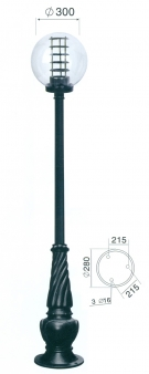 Đèn Trang Trí Sân Vườn TRỤ 087 H3000