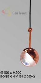 Đèn Trang Trí Thả Đầu Giường KH-THD21-1 Hồng Ø100
