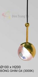 Đèn Trang Trí Thả Đầu Giường KH-THD21-1 Vàng Ø100