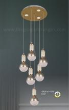 Đèn Trang Trí Thả LED AU-TH9835-6 Ø400