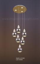 Đèn Trang Trí Thả LED AU-TH9849-6 Ø400