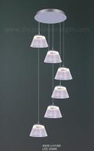 Đèn Trang Trí Thả LED AU-TLP18001A Ø400
