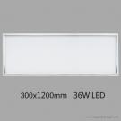 Đèn Trang Trí Trần Nhà Chữ Nhật Panel Led 36W QN6482 300x1200