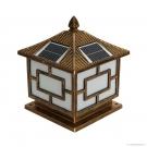 Đèn Trụ Cổng Năng Lượng Mặt Trời TSG3001 Φ300