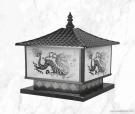 Đèn Trụ Cổng Vuông NVT303 400x400