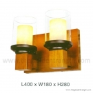 Đèn Tường Gỗ EU-V490