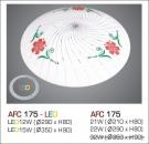 Đèn Áp Trần Led 3 Chế Độ AFC 175 12W Ø290