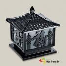 Đèn Trụ Cổng Nhôm Đúc AC33-4C 400x400