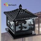 Đèn Trụ Cổng Nhôm Đúc AC33-7C 400x400