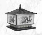 Đèn Trụ Cổng Vuông NVT304 300x300