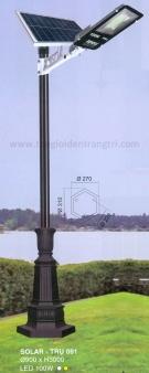 Đèn Trụ Trang Trí Sân Vườn Solar TRỤ 091 H3600