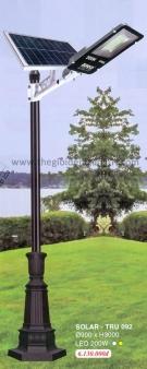 Đèn Trụ Trang Trí Sân Vườn Solar TRỤ 092 H3600