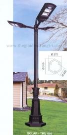 Đèn Trụ Trang Trí Sân Vườn Solar TRỤ 095 H3800