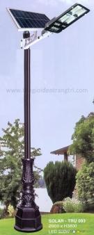 Đèn Trụ Trang Trí Sân Vườn Solar TRỤ 093 H3800