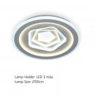Đèn Áp Trần LED E2-184 Ø500