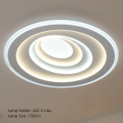 Đèn Áp Trần LED E2-187 Ø500