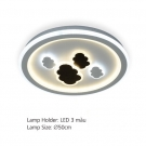 Đèn Áp Trần LED E2-188 Ø500