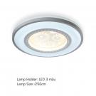 Đèn Áp Trần LED E2-195 Ø500