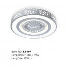 Đèn Áp Trần LED E2-197 Ø500
